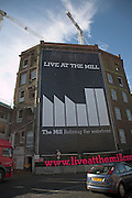 Live at the Mill. Urban redevelopment of docks, Ipswich Wet Dock, Suffolk, England