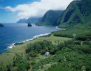 St Philomena Church, Kalaupapa, Molokai, Hawaii<br />