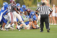 Water Valley vs. New Albany at Bobby Clark Field in Water Valley, Miss. on Friday, August 22, 2014. Water Valley won the season opener 36-33.