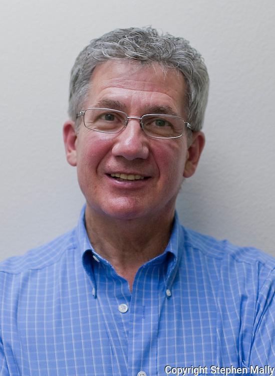 Daryl Grecian, of Solon, at Advanced Hair Technologies in Hiawatha on Saturday, May 29, 2010.