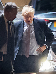 © Licensed to London News Pictures. 24/10/2019. London, UK. Prime Minister Boris Johnson arrives at Parliament. <br />  A vote on the Queen's speech is expected early this evening. Photo credit: Peter Macdiarmid/LNP