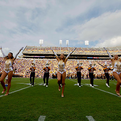 Sep 8, 2018; Baton Rouge, LA, USA; The LSU Tigers band performs before a game against the Southeastern Louisiana Lions at Tiger Stadium. Mandatory Credit: Derick E. Hingle-USA TODAY Sports