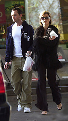 2 Months pregnant Victoria Beckham pictured Tuesday this week seen at a petrol station near her parents home in Hertfordshire