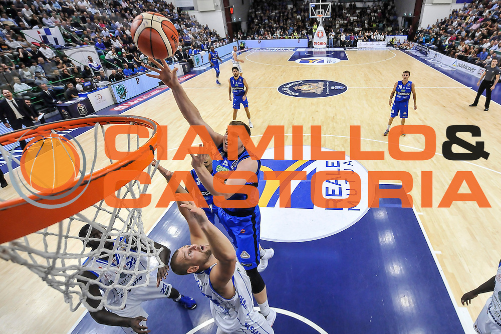 Jared Berggren<br /> Dinamo Banco di Sardegna Sassari - Germani Basket Brescia Leonessa<br /> Lega Basket Seire A 2016/2017<br /> Sassari 15/10/2016<br /> Foto Ciamillo-Castoria