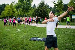 Priprave za Ljubljanski maraton 2019, on July 13, 2019, in Mostec, Ljubljana, Slovenia. Photo by SPS / Sportida