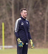 Dundee goalkeeper Jeremy Malherbe during Dundee FC training at the Michelin Grounds, Dundee<br /> <br /> <br />  - &copy; David Young - www.davidyoungphoto.co.uk - email: davidyoungphoto@gmail.com