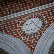 Temple Salem Seventh-Day Adventist Church, the building that formally housed the Woodrow Avenue Shul in the Dorchester neighborhood of Boston is seen on September 1, 2014 in Boston, Massachusetts. (Photo by Elan Kawesch/The Times of Israel)
