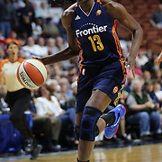 UNCASVILLE, CONNECTICUT- JUNE 5:   Chiney Ogwumike #13 of the Connecticut Sun in action during the Indiana Fever Vs Connecticut Sun, WNBA regular season game at Mohegan Sun Arena on June 3, 2016 in Uncasville, Connecticut. (Photo by Tim Clayton/Corbis via Getty Images)