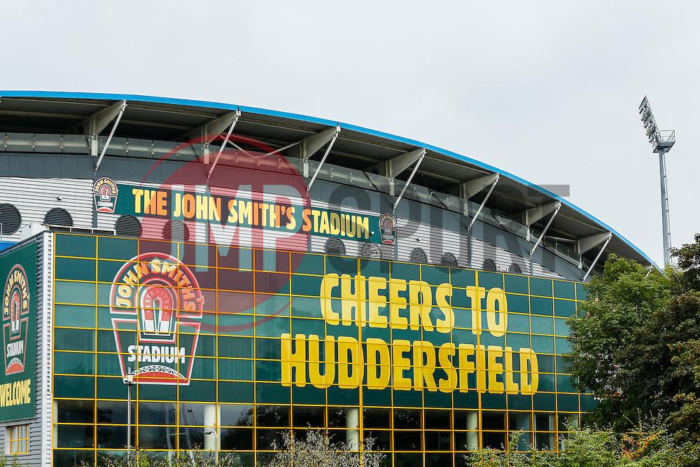 A General View of the John Smith's Stadium - Photo mandatory by-line: Rogan Thomson/JMP - 07966 386802 - 13/09/2014 - SPORT - FOOTBALL - Huddersfield, England - The John Smith's Stadium - Huddersfield town v Middlesbrough - Sky Bet Championship.