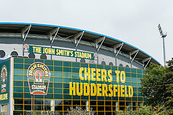 A General View of the John Smith's Stadium - Photo mandatory by-line: Rogan Thomson/JMP - 07966 386802 - 13/09/2014 - SPORT - FOOTBALL - Huddersfield, England - The John Smith's Stadium - Huddersfield town v Middlesbrough - Sky Bet Championship.