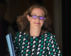 © Licensed to London News Pictures. 19/07/2016. London, UK. Baroness Evans of Bowes Park, Leader of the House of Lords, Lord Privy Seal, leaves Downing Street after attending Prime Minister Theresa May's first cabinet.  Photo credit: Peter Macdiarmid/LNP