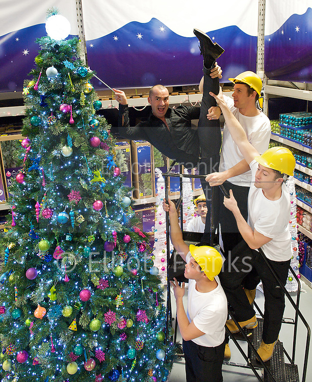 Louie Spence pirouettes into B &amp; Q <br />