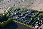 Nederland, Flevoland, Lelystad, 08-09-2009. hightech gevangenis (onderdeel Penitentiaire Inrichting (PI) Flevoland).toeslag); aerial photo (additional fee required); .foto Siebe Swart / photo Siebe Swart