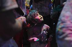 MAR 23 2014  Holi, the Hindu festival of colors in Kuala Lumpur