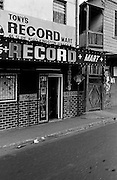 Downtown Kingston - Tony's Record Shop