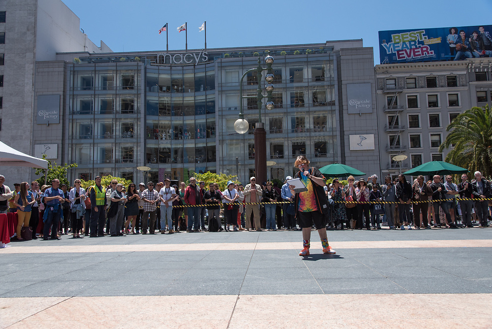 Performing in the Amateur Competition at the 54th Annual Cable Car Bell Ringing Contest | July 13, 2017