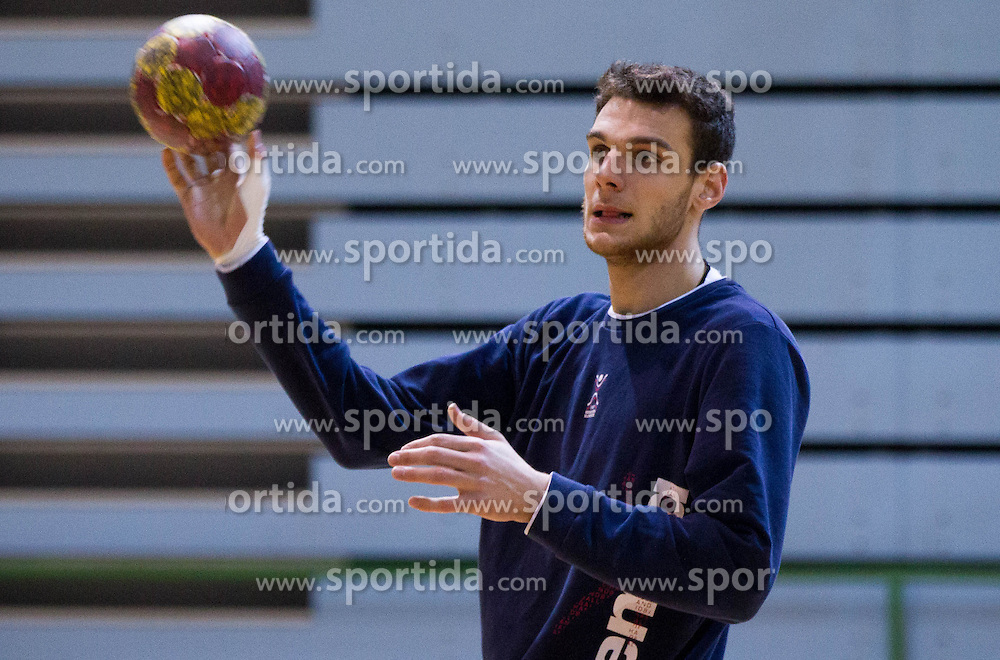 Borut Mackovsek during the Training Camp before IHF Men's Handball World Championship Spain 2013 on January 9, 2013 in Zrece, Slovenia. (Photo By Vid Ponikvar / Sportida.com)