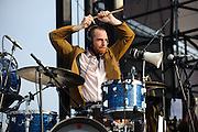 Photos of MUTEMATH performing on the second day of The Bamboozle Festival in East Rutherford, NJ on May 2, 2010.