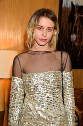 BILLIE JD PORTER at the Louis Vuitton for Unicef Event #MAKEAPROMISE held at The Apartment, 17-20 New Bond Street, London on 14th January 2016.