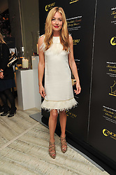 CAT DEELEY at the second night of the Tomodachi (Friends) Charity Dinners hosted by Chef Nobu Matsuhisa in aid of the Japanese committee for UNICEF held at Nobu Berkeley, Berkeley Street, London on 5th May 2011.