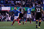 Goal, Ben Close of Portsmouth scores his second, Portsmouth 5-1 Bradford City during the EFL Sky Bet League 1 match between Portsmouth and Bradford City at Fratton Park, Portsmouth, England on 2 March 2019.