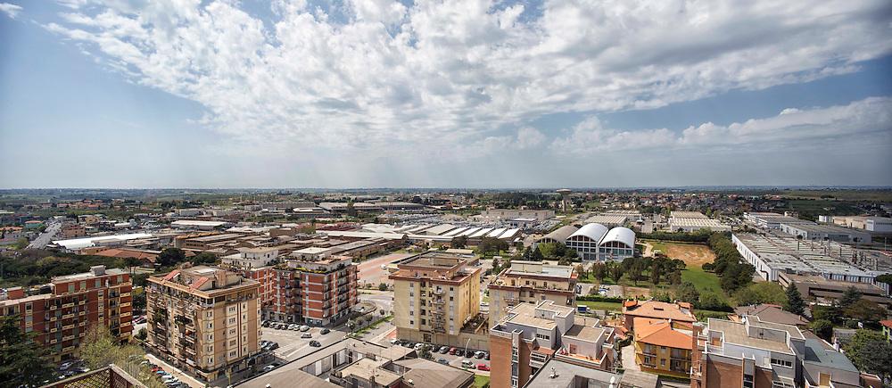 Panoramica della citt&agrave; di Aprilia<br /> <br /> Sky line of Aprilia city