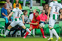 GRONINGEN, 17-05-2017, FC Groningen - AZ,  Noordlease Stadion, FC Groningen speler Ruben Jenssen, AZ speler Alireza Jahanbakhsh