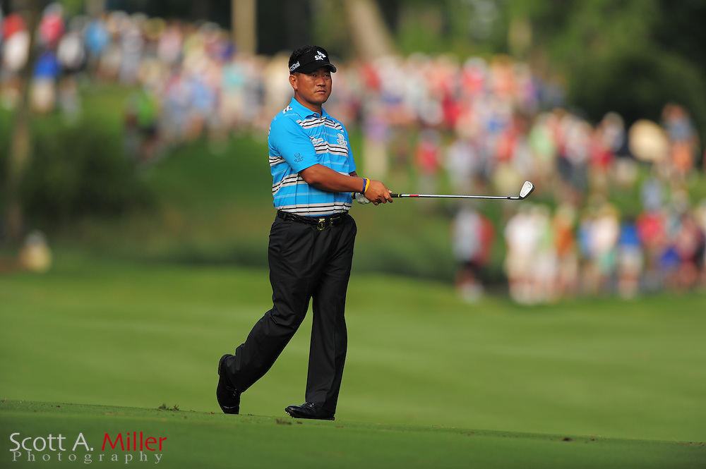 K.J. Choi during the first round of the Players Championship at the TPC Sawgrass on May 10, 2012 in Ponte Vedra, Fla. ..©2012 Scott A. Miller..