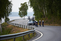 Team Virtu Cycling Women at Ladies Tour of Norway 2018 Team Time Trial, a 24 km team time trial from Aremark to Halden, Norway on August 16, 2018. Photo by Sean Robinson/velofocus.com