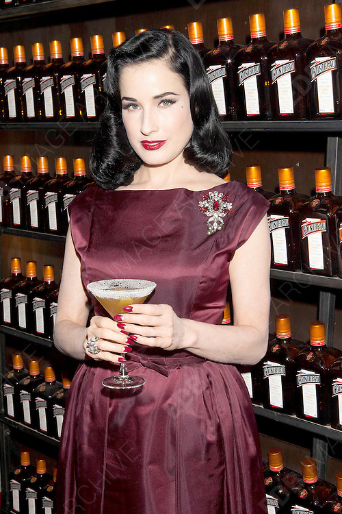 15.OCTOBER.2012. NEW YORK<br /> <br /> DITA VON TEESE ATTENDS AND PERFORMS AT THE LA MAISON COINTREAU DEBUT IN NYC<br /> <br /> BYLINE: EDBIMAGEARCHIVE.CO.UK<br /> <br /> *THIS IMAGE IS STRICTLY FOR UK NEWSPAPERS AND MAGAZINES ONLY*<br /> *FOR WORLD WIDE SALES AND WEB USE PLEASE CONTACT EDBIMAGEARCHIVE - 0208 954 5968*