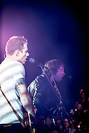 Tim Lopez, Tom Higgenson of the Plain White T's in concert in Yokosuka Japan