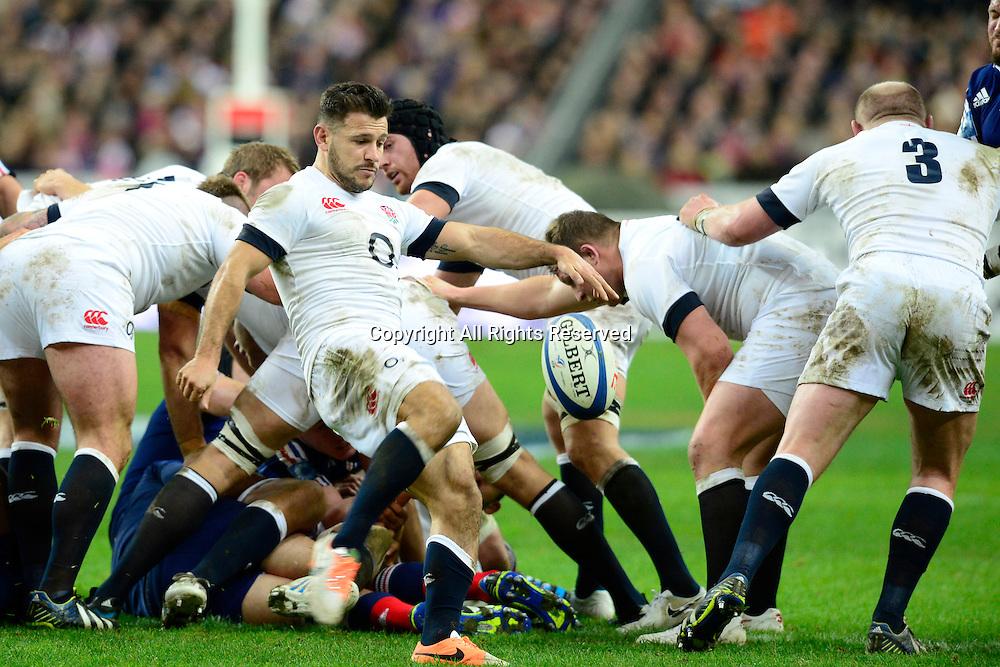 01.02.2014. Stade de France, Paris, France. 6 Nations International Rugby Union. France versus England.  Danny Care ( Eng )
