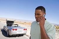 Man Having Car Trouble
