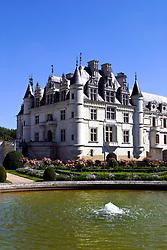 Chateau de Chenonceau and gardens, Loire, France