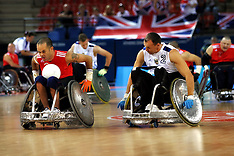 LONDON 2012 PARALYMPICS WHEELCHAIR RUGBY