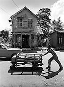 Buff Bay cane cart
