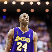 BASKET BALL - PLAYOFFS NBA 2008/2009 - LOS ANGELES LAKERS V ORLANDO MAGIC - GAME 3 -  ORLANDO (USA) - 09/06/2009 - PHOTO : CHRIS ELISE<br /> KOBE BRYANT (LAKERS)