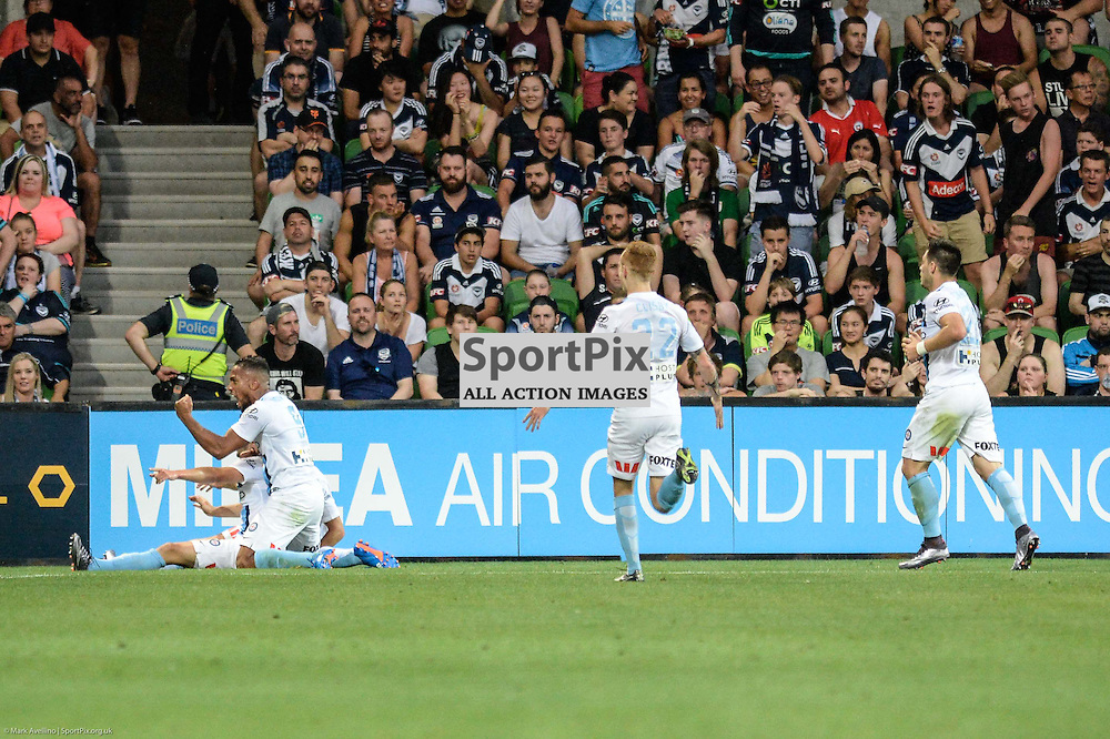Hyundai A-League, 19th December 2015, RD11 match between Melbourne City FC v Melbourne Victory FC at Aami Park in a 2:1 win to City in front of a 23,000+ crowd. Melbourne Australia. © Mark Avellino | SportPix.org.uk