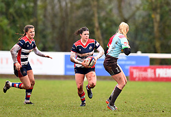 Phoebe Murray of Bristol Ladies - Mandatory by-line: Paul Knight/JMP - 03/02/2018 - RUGBY - Cleve RFC - Bristol, England - Bristol Ladies v Harlequins Ladies - Tyrrells Premier 15s