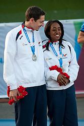 Elvina Vidot, Guide: SCOUARNEC Loic, 2014 IPC European Athletics Championships, Swansea, Wales, United Kingdom