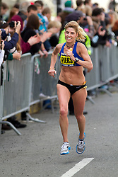 2013 Boston Marathon: Sheri Piers of Maine, masters division
