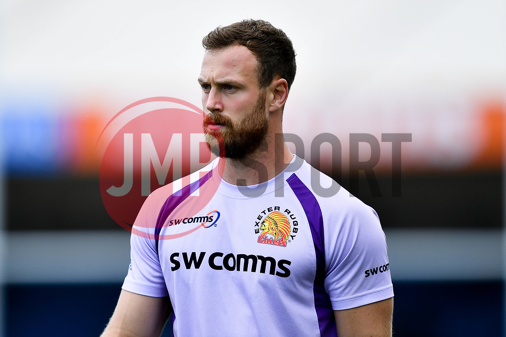 James Short of Exeter Chiefs prior to kick off - Mandatory by-line: Ryan Hiscott/JMP - 21/09/2019 - RUGBY - Sandy Park - Exeter, England - Exeter Chiefs v Bath Rugby - Premiership Rugby Cup