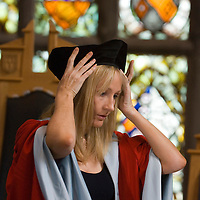 JK Rowling, receiving the Honorary Degree of Doctor of Law (LLD) at the University of Aberdeen, Scotland, July 2006.<br />  JK Rowling jumps on the Twitter bandwagon<br />