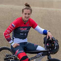 30-08-2020: Wielrennen: BMX - Road to Tokyo & WK 2021: Papendal <br />Laura Smulders