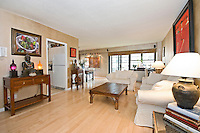 Living Room at 345 East 80th Street