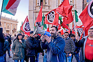 "Roma 10 Dicembre 2014<br /> Presidio  in Campidoglio, organizzato da Casapound Italia, dopo Investigation ""Mafia capitale"" della Procura di Roma, per chiedere le dimissioni del sindaco Ignazio Marino e elezioni subito. Davide Di Stefano di CasaPound Italia con il megafono<br /> <br /> Rome December 10, 2014<br /> The garrison  at Capitol, organized by Casapound Italy , after  Investigation   ""Mafia capital"" of the prosecutor of Rome , to ask  the resignation of Mayor Ignazio Marino and elections immediately. Davide Di Stefano CasaPound Italy with megaphone"