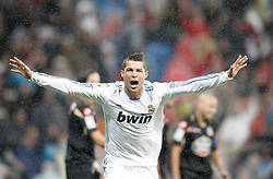 03.10.2010, Estadio Santiago Bernabeu, Madrid, ESP, Primera Divison, Real Madrid vs Deportivo de La Coruna, im Bild Real Madrid's Cristiano Ronaldo celebrates, EXPA Pictures © 2010, PhotoCredit: EXPA/ Alterphotos/ Alvaro Hernandez