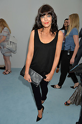 CLAUDIA WINKLEMAN at the Glamour Magazine Women of the Year Awards in association with Next held in the Berkeley Square Gardens, London on 7th June 2016.