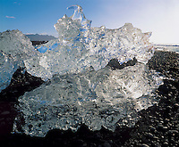 Ice formation close-up