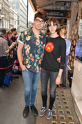 TV & Radio presenter MATT RICHARDSON and SAM ROLLINSON at a Gala Performance of Impossible at the Noël Coward Theatre, 85-88 Saint Martin's Lane, London on 13th July 2016.